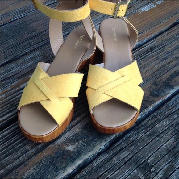 Topshop Shoes | Dolly Wedge Platform